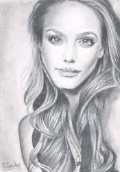 Jessica ALBA by Jeronimight