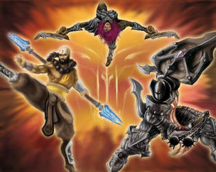 DiabloIII ContestComposition by Jeronimight