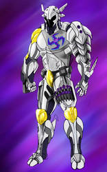 Cyber  Ninja White Model by Jeronimight
