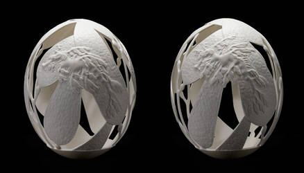 'balance' - Yin Yang view by eggdoodler