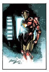 Iron Man by rafaelalbuquerqueart