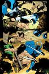 Blue Beetle 11 - pg 05 by rafaelalbuquerqueart
