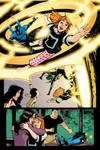 Blue Beetle 12 - pg 01 by rafaelalbuquerqueart