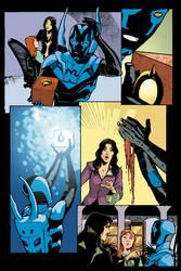 Blue Beetle 12 - pg 02 by rafaelalbuquerqueart