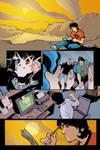 Blue Beetle 14 - pg 01 by rafaelalbuquerqueart