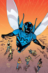 Blue Beetle 23 Cover by rafaelalbuquerqueart