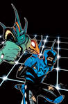 Blue Beetle 24 Cover by rafaelalbuquerqueart