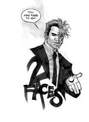 2 Faces by rafaelalbuquerqueart