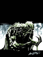 Swamp Thing by rafaelalbuquerqueart