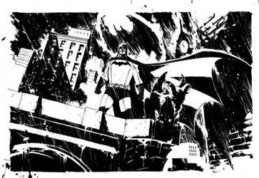 Batman Commission by rafaelalbuquerqueart