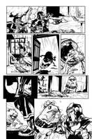 Green Lantern 40 - pg2 by rafaelalbuquerqueart