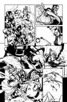 Green Lantern 40 - pg3 by rafaelalbuquerqueart