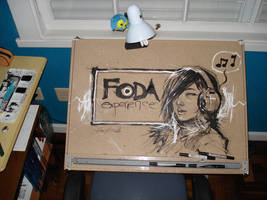 Drawing Table 2 by rafaelalbuquerqueart