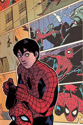 Spiderman Cover by rafaelalbuquerqueart