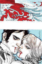 American Vampire 03 Cover by rafaelalbuquerqueart