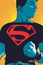 Superboy 1 Cover by rafaelalbuquerqueart