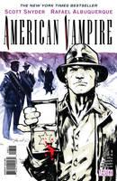 American Vampire 08 Final CVR by rafaelalbuquerqueart