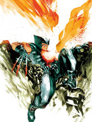 Wolverine - XForce by rafaelalbuquerqueart