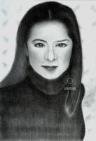 Graphite Portrait: Antoinette Taus (Final) by DicoCalingal