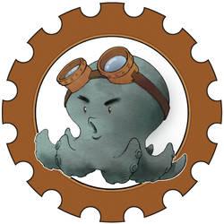 steampunk octopus in gear by Elaume