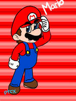 Just Mario by paratroopaCx