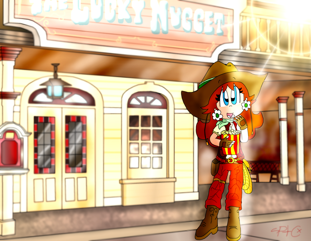 PC: The Lucky Nugget Saloon by paratroopaCx