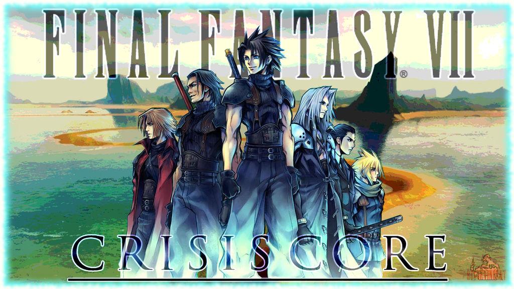 Final Fantasy Vii Crisis Core Wallpaper By Roguevincent On Deviantart