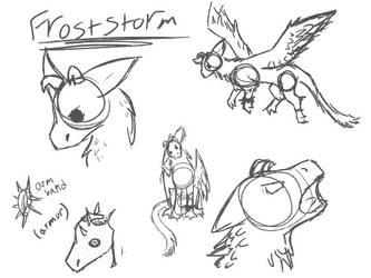 Froststorm sketch by Grayjedi101