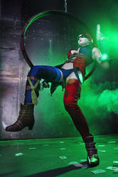 Injustice: Gods Among Us, Cosplay Harley Quinn by AsherWarr