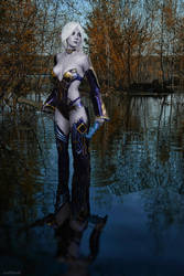Cosplay Lineage 2: Dark Elf by AsherWarr