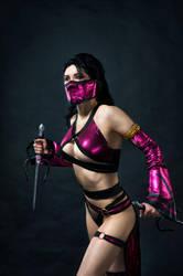 Mileena alternate costumes Mortal Kombat 9 by AsherWarr