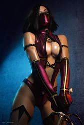 Mileena  costumes Mortal Kombat 9 by AsherWarr