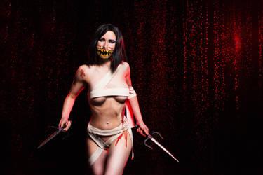 Mileena cosplay Mortal Kombat 9 by AsherWarr
