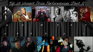 Top 24 Vincent Price Performances (Part II) by JJHatter