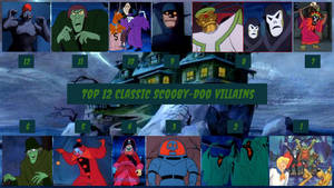Top 12 Classic Scooby-Doo Villains by JJHatter