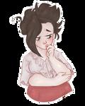 Momo by Bubblybluejellyfish