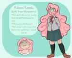 Tokemi Tomika by Bubblybluejellyfish