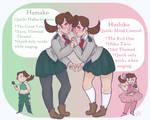 Siren Sisters by Bubblybluejellyfish