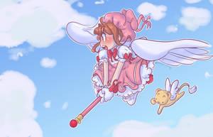 God I love Sakura by Bubblybluejellyfish