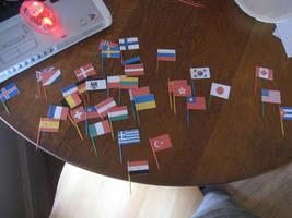 Hetalia flags in world order by Metasaur