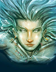 Water Prince by Edenknight
