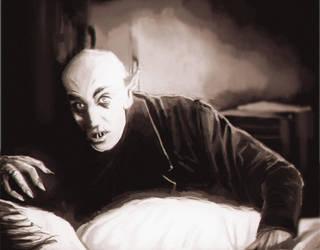 Nosferatu fan art by Edenknight