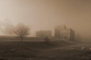 Brougham Castle II by graemeskinner