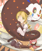 Mami meal time. by Neahaha