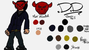 D.D Character Reference by Danbrofist