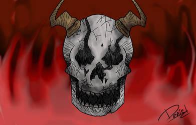Horned Hell (REDRAW) by Danbrofist
