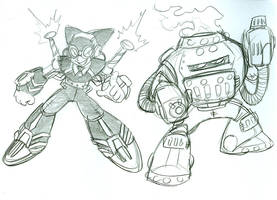 Mega Man Steampunk 3 by Deviant-Man
