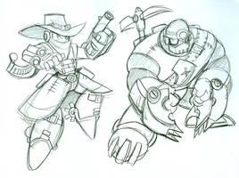 Mega Man Steampunk 4 by Deviant-Man