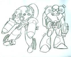Mega Man Steampunk 6 by Deviant-Man