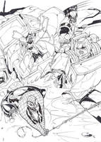 Marvel Zombies vs. TF Zombies by Deviant-Man